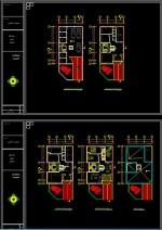 فایل کامل پروژه مسکونی سه طبقه 4